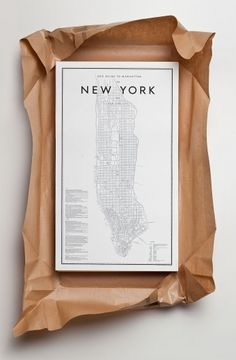 Ehrenstråhle & Wågnert.  Beautifully presented New York map