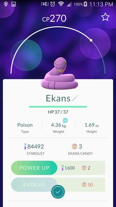 Ekans • W00t, I have the complete Team Rocket trio now~! ♡♡♡ • #050