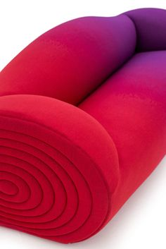 ombre red to purple sofa Divano Glider | liegen, sitzen, kuscheln ...
