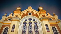 The Orthodox Synagogue in the western Romania city of Oradea has reopened officially after a lengthy restoration process.me/Valentin_Jalba Romania, Westerns, Restoration, Mansions, House Styles, City, Manor Houses, Villas, Mansion