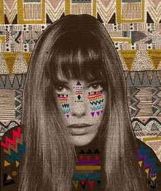 JANE Art Print This is a perfect Inspiration for the GCSE question on Disguises