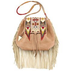 LuckyShops ($3,720) ❤ liked on Polyvore featuring bags, handbags, leather flap handbag, leather purse, real leather purses, leather satchel purse and leather fringe purse