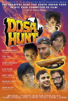 CAAMFest's New Directions Launch featuring the West Coast Premier of Dosa Hunt, performances by Indian Bastards from Hell (feat. members of Das Racist) and a special menu by Café Asia! Click the photo to get your tickets!