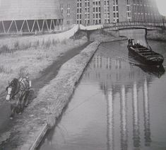 Birmingham Canal, West Bromwich, Canal Boat, Narrowboat, Railroad Tracks, Boats, River, Country, Pictures