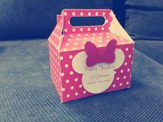 Minnie favour box