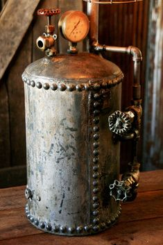 96 Best Pressure Tanks And Oil Barrels Upcycled Images In