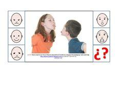 Asociar situaciones emociones Toothpaste Colors, Social Skills Autism, Autism Classroom, Feelings And Emotions, Preschool, Montessori, Pictures, Behance, Feelings