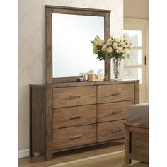 Progressive Furniture Inc. Brayden 6 Drawer Dresser