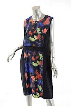 94729d56c74 St. John short dress Multi Color St Stretch Silk on Tradesy Knee Length  Shorts,