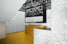 What Do You Say About a Traditional Arabic Style with a Contemporary Look? I love the novelty of the space but I think I would be sick being in it.
