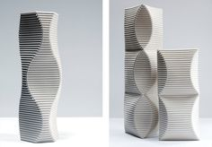 Sculptural Vessels by Keith Varney