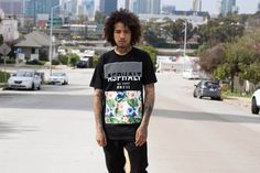 """#AYC 2015 Spring Collection #Skateboarding legend Stevie Williams' brand Asphalt Yacht Club presents its new 2015 spring collection in a vibrant lookbook that brings us a #summer vibe. Featuring bold colors and designs that encompasses tropical influences, we see color-blocked prints from the """"Paradise Lost"""" capsule and tie dye prints from the """"Starburst"""" collection, each of which reminds us that summer is steadily approaching. #AsphaltYachtClub #StevieWilliams"""