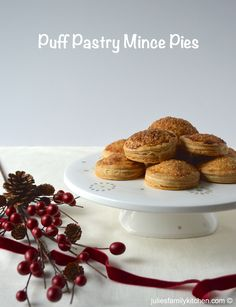puff pastry mince pies christmas cakes christmas holidays christmas desserts the christmas - Best Christmas Desserts Ever