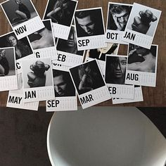 We adore Via Martin's model prints here at Southwood Stores and this set of images are just stunning! We have used grey washi-tape to display ours and they loo Washi Tape, Calendar, Display, Grey, Model, Prints, Cards, Image, Floor Space