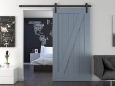 California Barn Door Ensemble