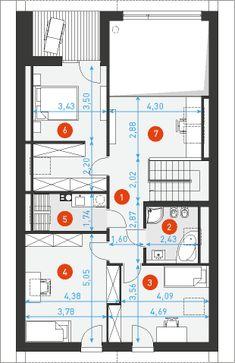 Dostępny 4A - DOMY Z WIZJĄ Floor Plans, House, Home, Haus, Houses, Homes