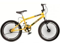 Bicicleta Colli Bike Infantil Cross Free Ride - Aro 20 Freios V-brake e Quadro Aço Carbono