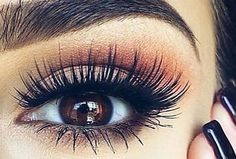 Beauty-hacks are methods in make-up, about which nothing is written in the description of the means or instructions on its packaging. These are the tricks about the existence of which you can learn… Fake Lashes, Eyelashes, Mascara, Makeup Tips For Brown Eyes, Makeup Mistakes, Eyelash Serum, Stunning Makeup, Fall Makeup, Flawless Makeup