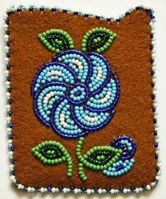 Seed Bead Patterns, Loom Patterns, Beading Patterns, Native Beadwork, Native American Beadwork, Native American Crafts, Beaded Crafts, Arte Popular, Ribbon Work