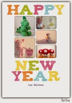 Las Marinas Crochet: Feliz 2015!!