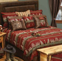 Yellowstone Bedding - Western Decor - Cabin Decor