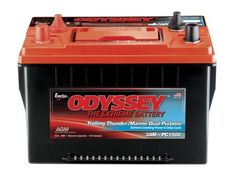 ODYSSEY Batteries TROLLING Thunder Marine Dual Purpose Battery (Marine Dual Terminal SAE Auto Post and Studs) has both massive starting power and amazing deep cycling capability up to 400 cycles at 8...