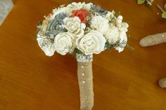 Hey, I found this really awesome Etsy listing at http://www.etsy.com/listing/156345456/sola-wood-bouquet-wedding-bouquet