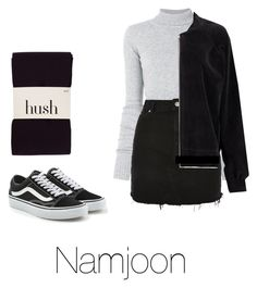 """Cold day with Namjoon"" by infires-jhope on Polyvore featuring Vans, Faith Connexion, Topshop and Boohoo"