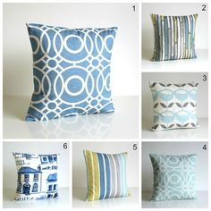 Contemporary Cushion Cover - 18 x 18 Modern Pillow Cover