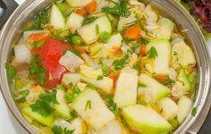 Суп овощной с кабачками #кабачки #кулинария #первые_блюда #рецепты #суп #картофельный #супы
