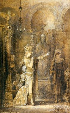 Salome Dancing by Gustave Moreau