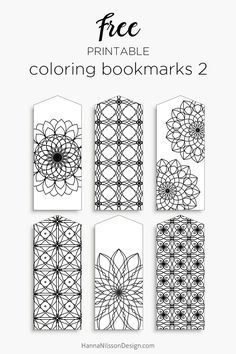 printable coloring bookmarks free download print and color anyway you like kids