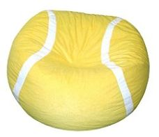 The Velour Tennis Ball Bean Bag is double stitched with double overlap folded seam and has a double zippered bottom for added security. Tennis Match, Sport Tennis, Play Tennis, Tennis Serve, Tennis Party, Tennis Gifts, Cool Bean Bags, Tennis Funny, Tennis Clothes