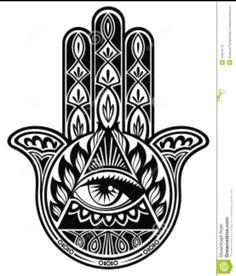 Illustration Of Hamsa Hand Vector Art Clipart And Stock Vectors