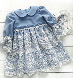 Baby Girl Frocks, Frocks For Girls, Kids Frocks, Little Girl Dresses, Girls Dresses, Dress For Girl Child, Toddler Dress, Baby Girl Fashion, Toddler Fashion