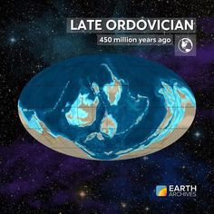 Near the end of the Ordovician around 450 million years ago volcanoes around the…