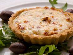 Receta para tarteletas de queso mozzarella y calabacines