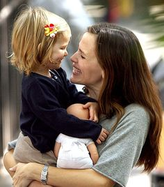 Jennifer Garner - love her. she seems so loving and so happy. would like to read more about her.