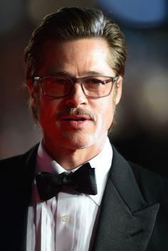 "Brad Pitt Photos: ""Fury"" - Closing Night European Premiere Gala Red Carpet Arrivals - 58th BFI London Film Festival"