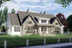 Oaks House, Up House, House Inside, Best House Plans, Dream House Plans, Dream Houses, 4000 Sq Ft House Plans, Home Plans, One Level House Plans