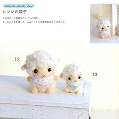 Charming Little Needle Felt Wool  Japanese craft by MeMeCraftwork, $18.00
