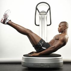 Build six-pack abs with the Power Plate