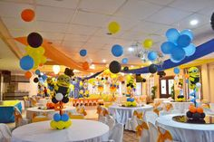 A Huge Minion Despicable Me 5th Birthday Celebration ~ Featured Party   Seshalyn's Party Ideas #despicableme #minionpartyideas