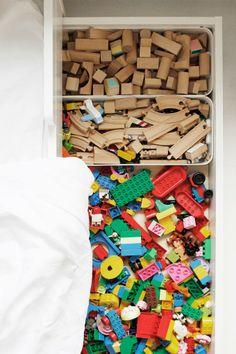 Kids room - Under bed storing - Varpunen