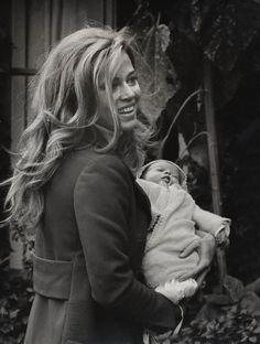 Jane and baby Vanessa