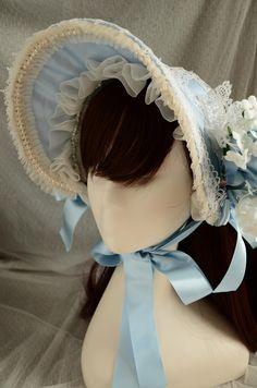 Scarlet's Rosarium - Half bonnet