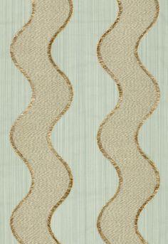 Fabric | Wavelength in Aqua | Schumacher