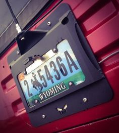 License Plate Mount (RAW) image 1