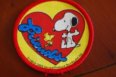 Snoopy & Woodstock Friends Patch