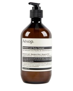 Holiday Gift: Aesop Geranium Leaf Cleanser 500mL // Roden Gray #Shopify